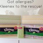 A Mom's Best Friend During Allergy Season: Kleenex!