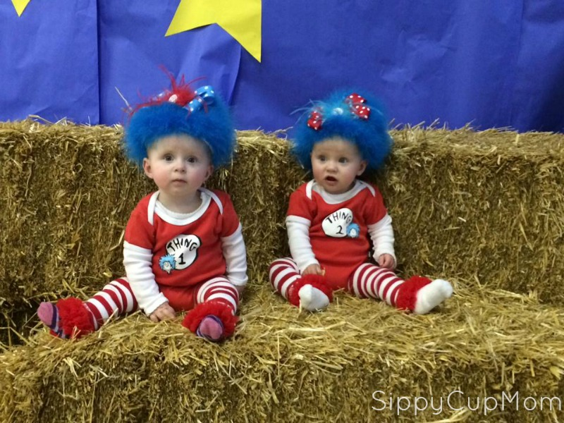Thing 1 and Thing 2 Twin Costume