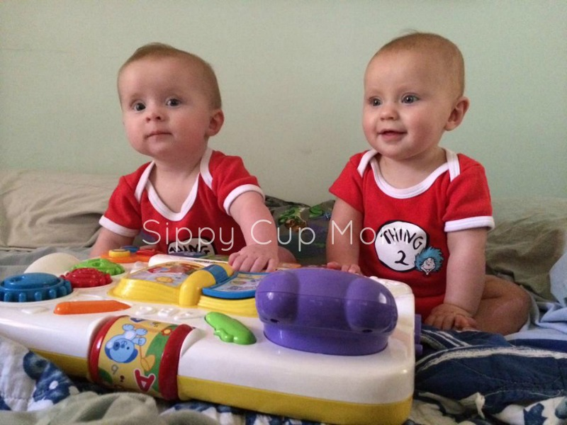 Thing 1 and Thing 2 Twins
