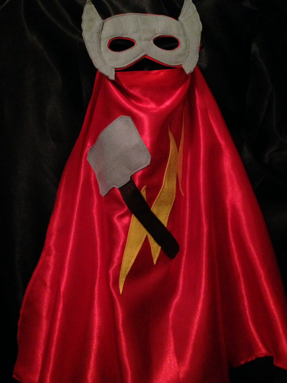Thor Cape and Mask