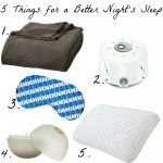 5 Things You Need for a Better Night's Sleep