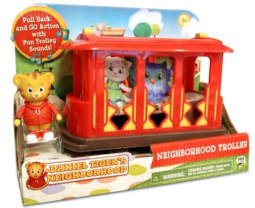 Daniel Tiger's Neighborhood Red Trolley