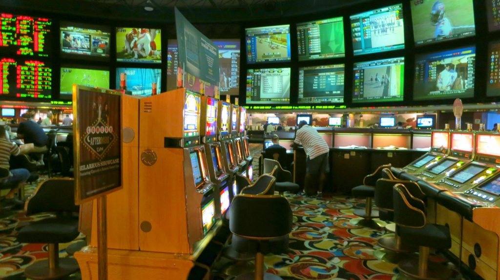 LVH Race and Sports Book