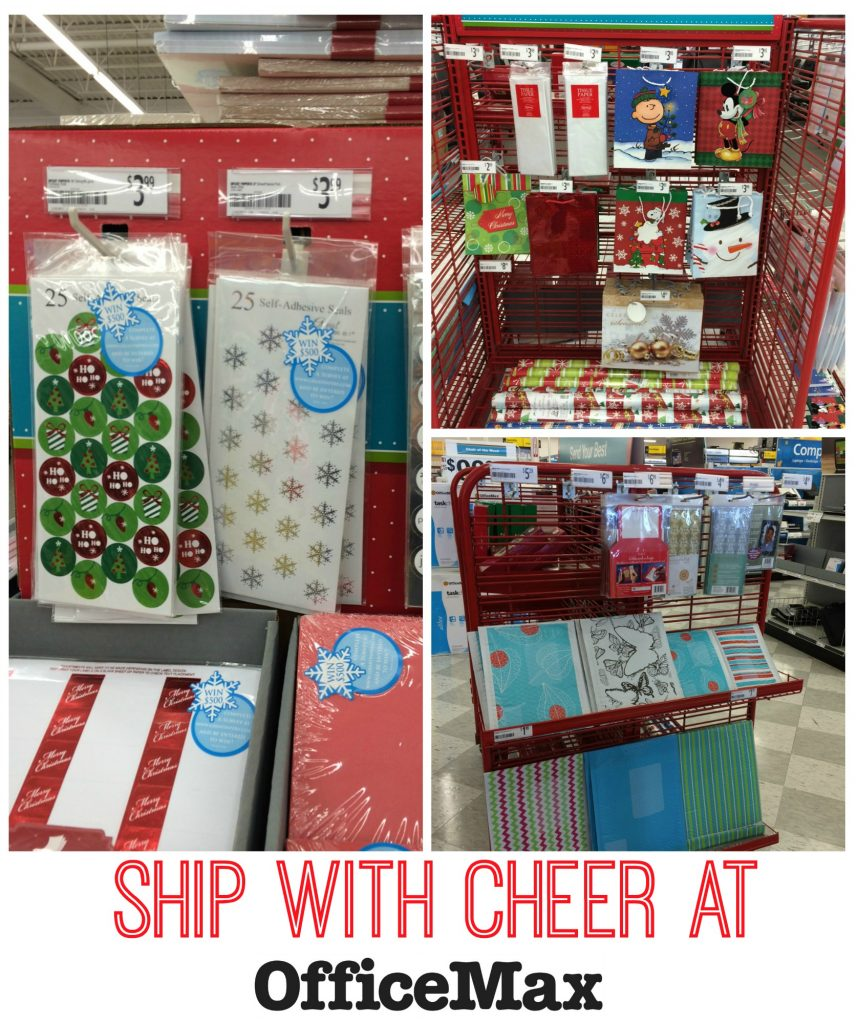 Ship with Cheer Collage