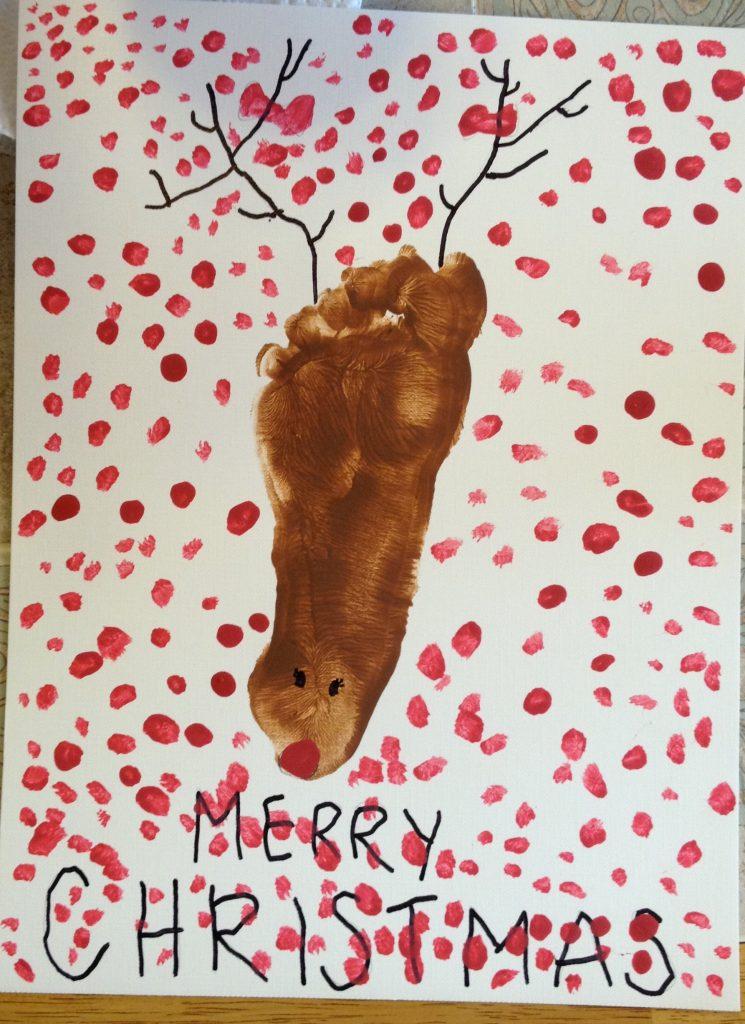 6 Year Old Reindeer Feet