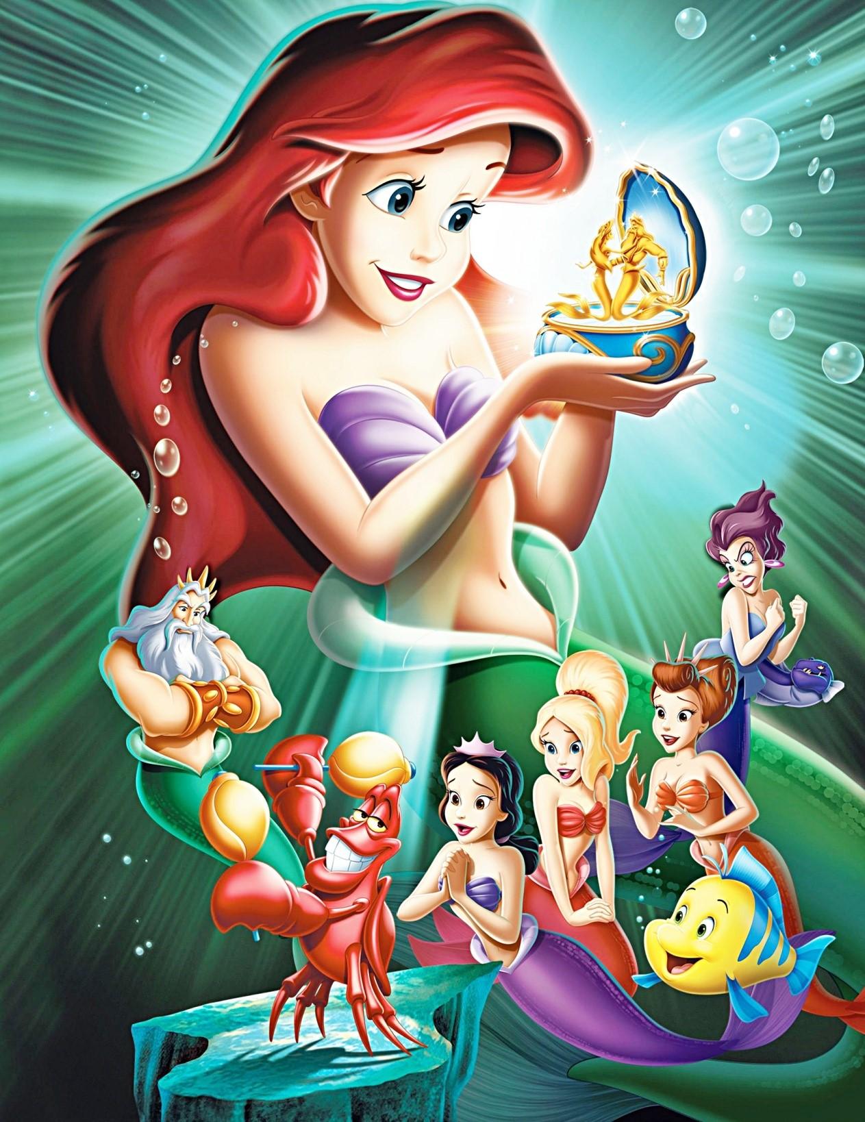 The Little Mermaid II: Return To The Sea & Ariel's