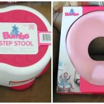 Potty Training with the Bumbo Toilet Trainer and Step Stool