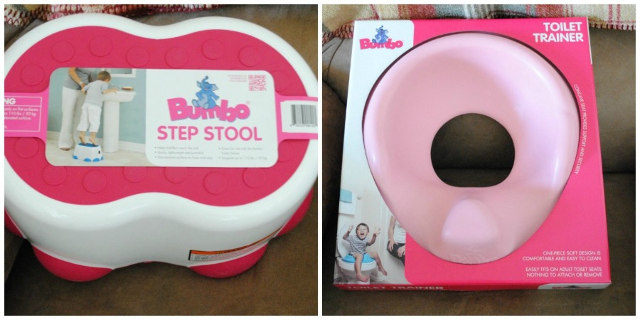 Bumbo Toilet Trainer and Step Stool