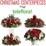 Duck the Halls with Christmas Centerpieces from Teleflora! {$75 Gift Code Giveaway}