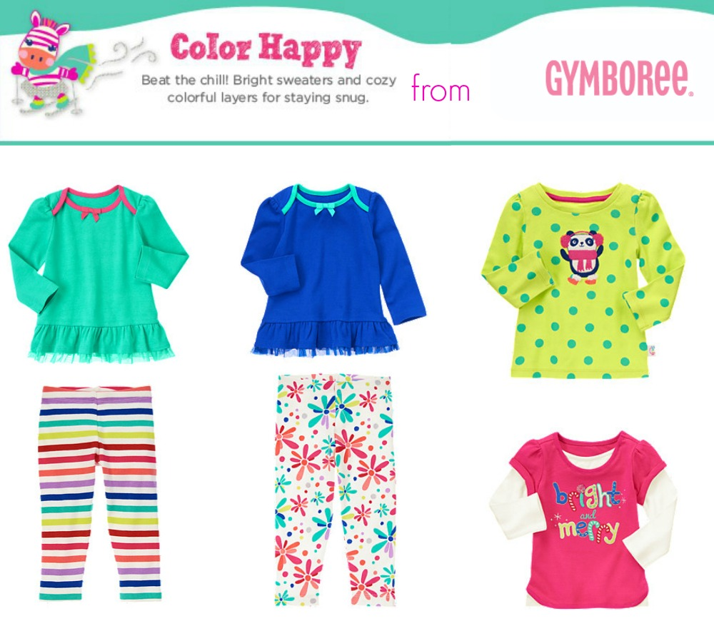 Color Happy Line from Gymboree
