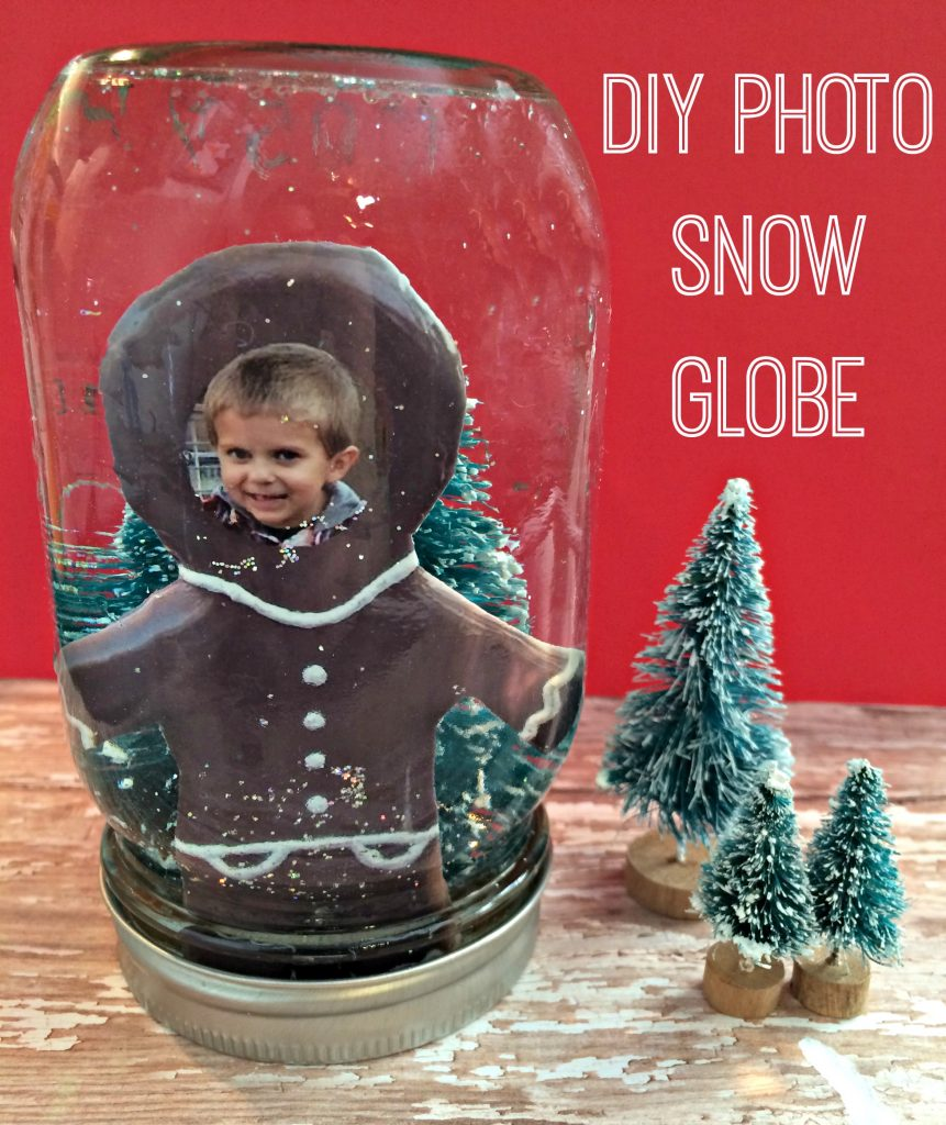 DIY Photo Snow Globe