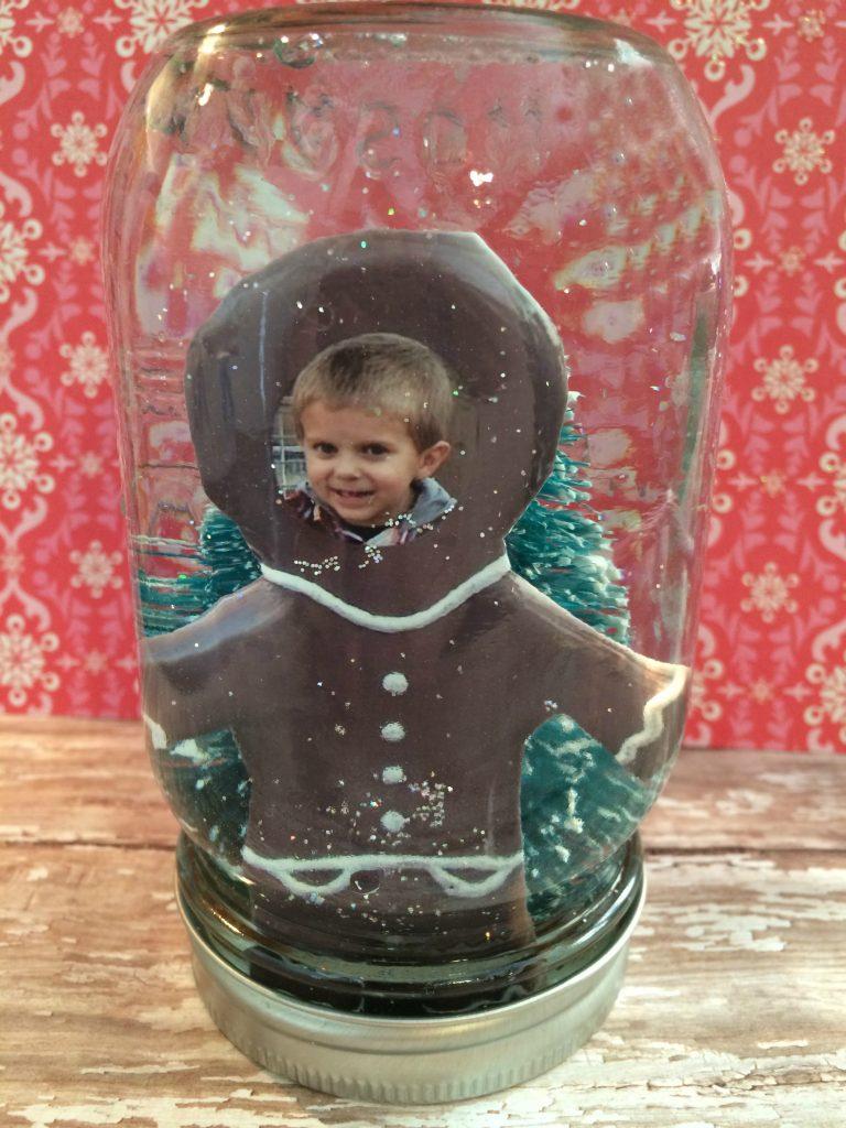 DIY Photo Snow Globe from Walgreens