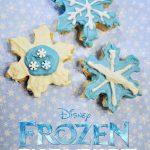 Disney's FROZEN Rice Krispie Snowflakes