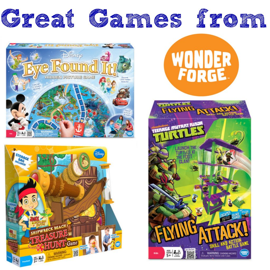 Games from Wonder Forge
