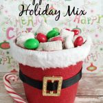 Peppermint Holiday Mix Recipe