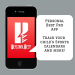 Organize Your Child's Sports Schedule with the Free Personal Best Pro App