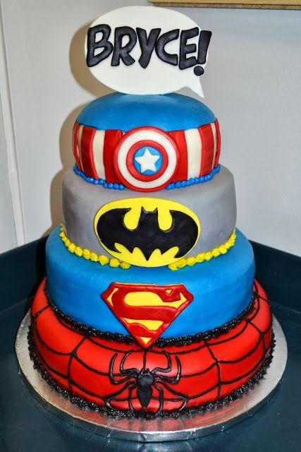 Super Hero Cake 2