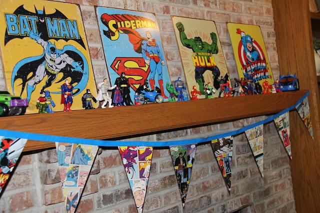 Super Hero Party Decor