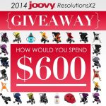 Win a $600 Shopping Spree from Joovy! #Joovy2014ResolutionsX2