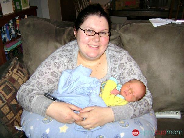 Hayden as a Baby