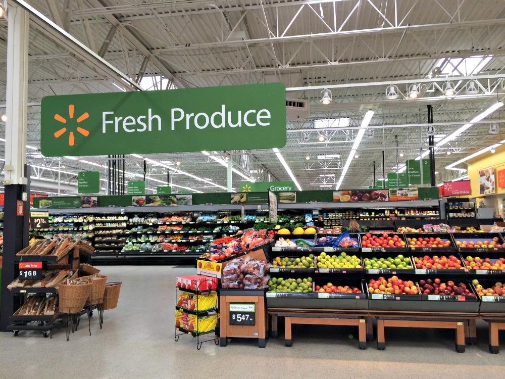 Fresh Produce at Walmart