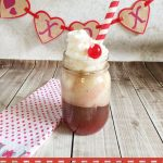 Valentine's Day Cherry Coke Float