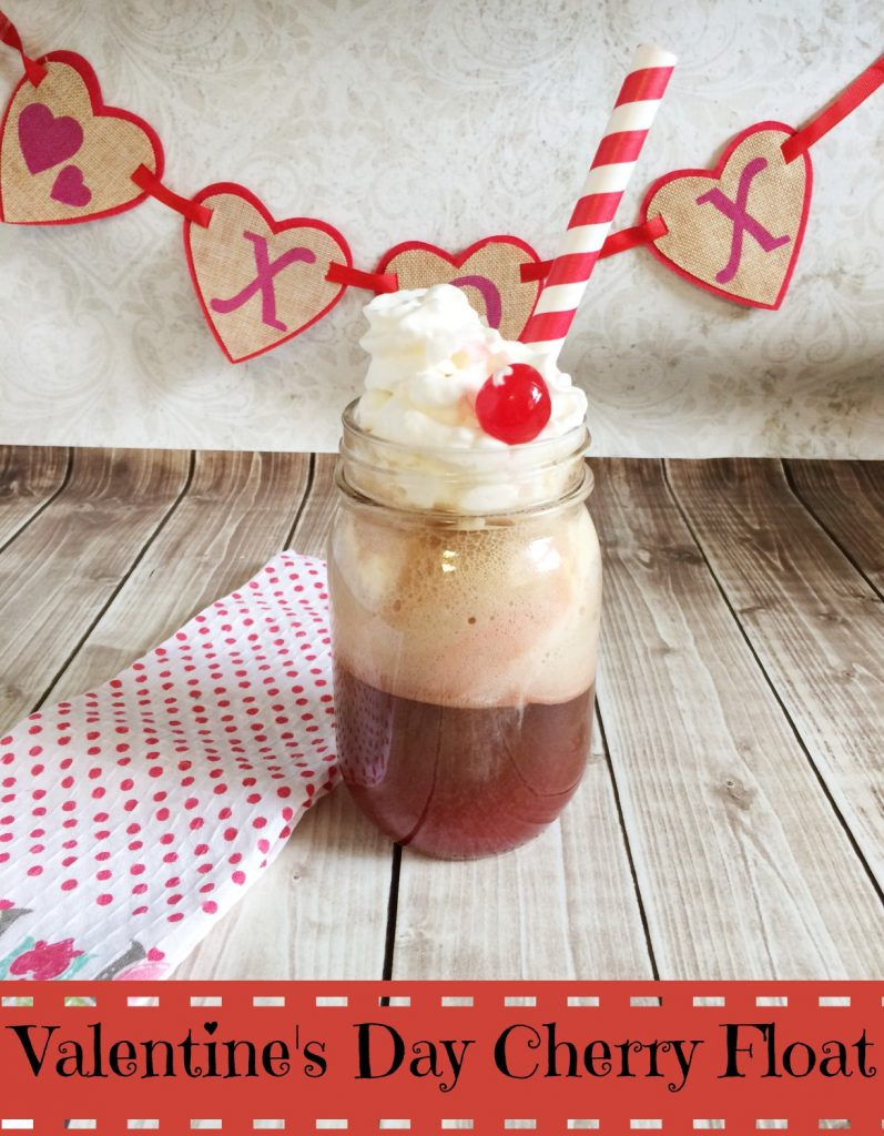 Valentine's Day Cherry Float