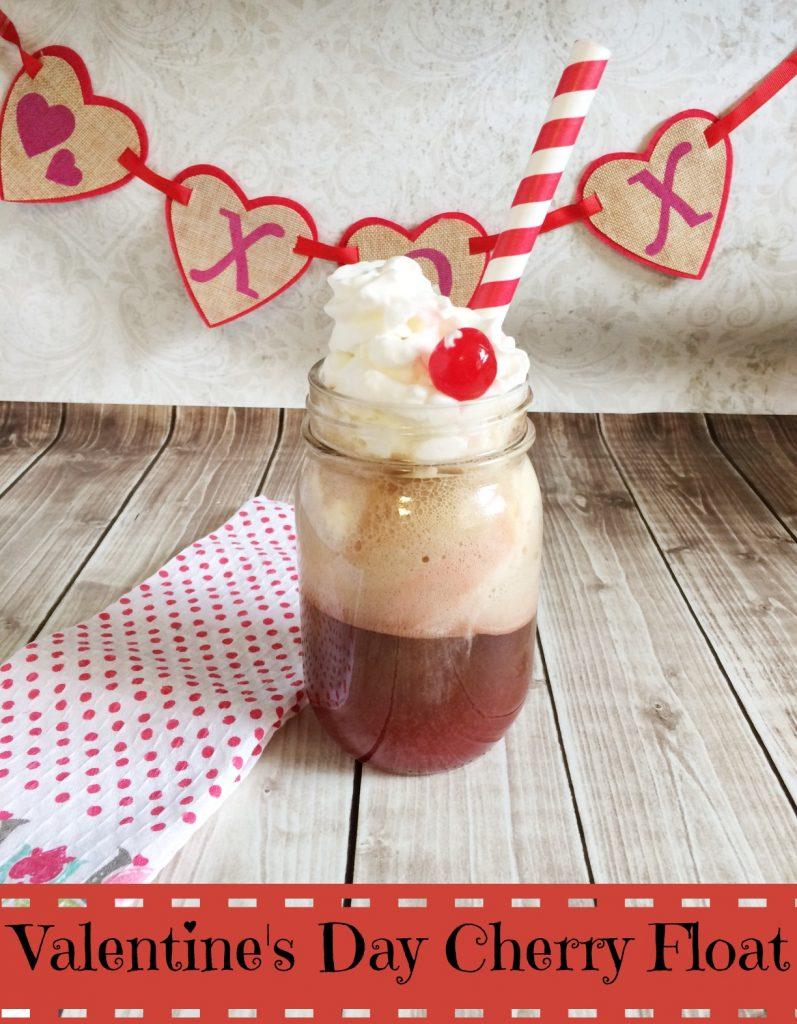 Valentine's Day Cherry Float