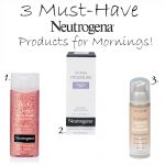 Three Must-Have Neutrogena Products for Morning + Walmart Gift Card Giveaway!