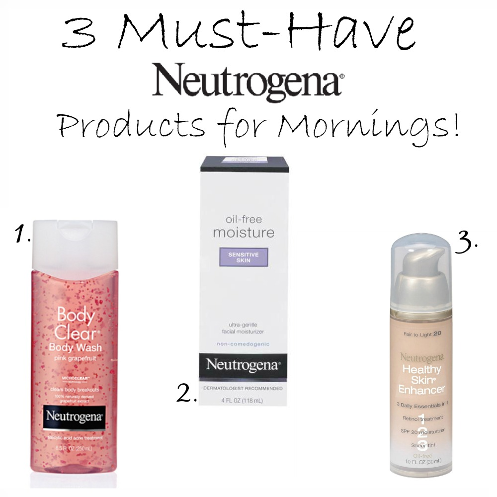 Three Must Have Neutrogena Products For Morning Walmart Gift