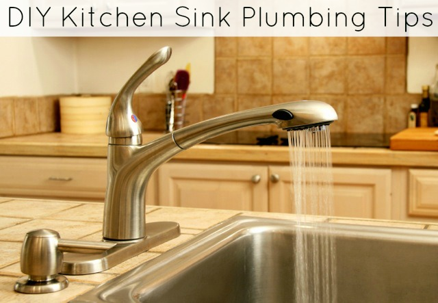 How to Replace a Kitchen Sink - Plumbing Tips - Sippy Cup Mom