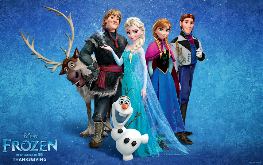 Frozen Review All Characters