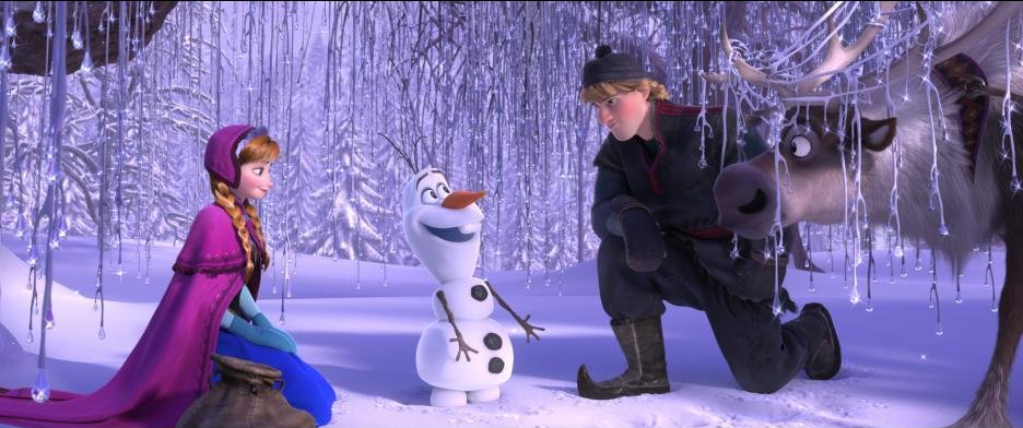Frozen Review Meeting Olaf