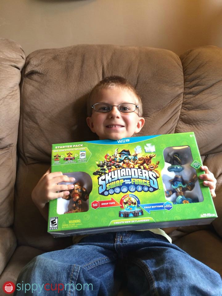 Hayden and Skylanders