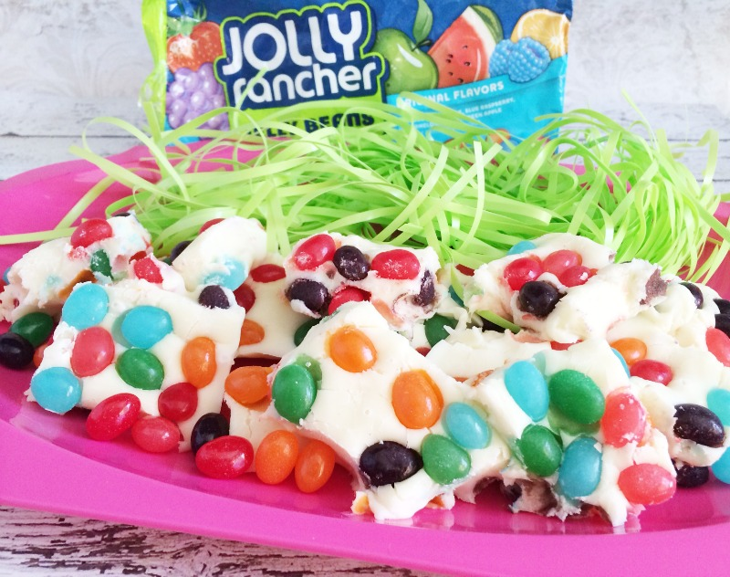 Jolly Rancher Jelly Bean Fudge