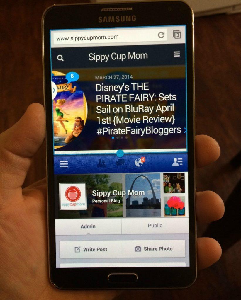 Multi Tasking Galaxy Note 3