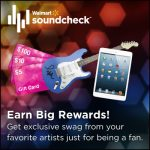 Earn Awesome Music Rewards from Walmart Soundcheck!