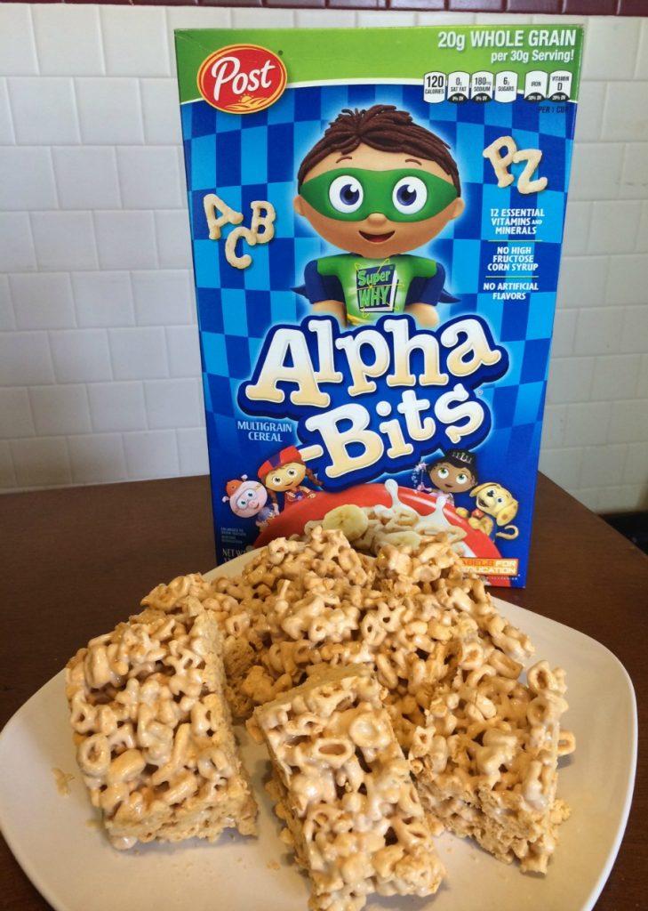 Alpha Bits Cereal Bars