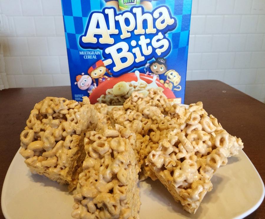 Alpha-Bits Cereal Bars