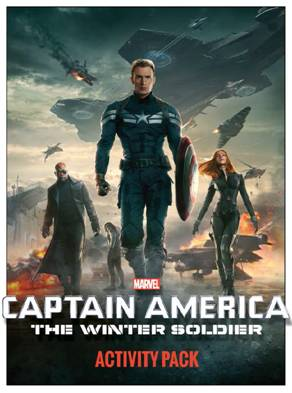 Captain America Activity Sheets