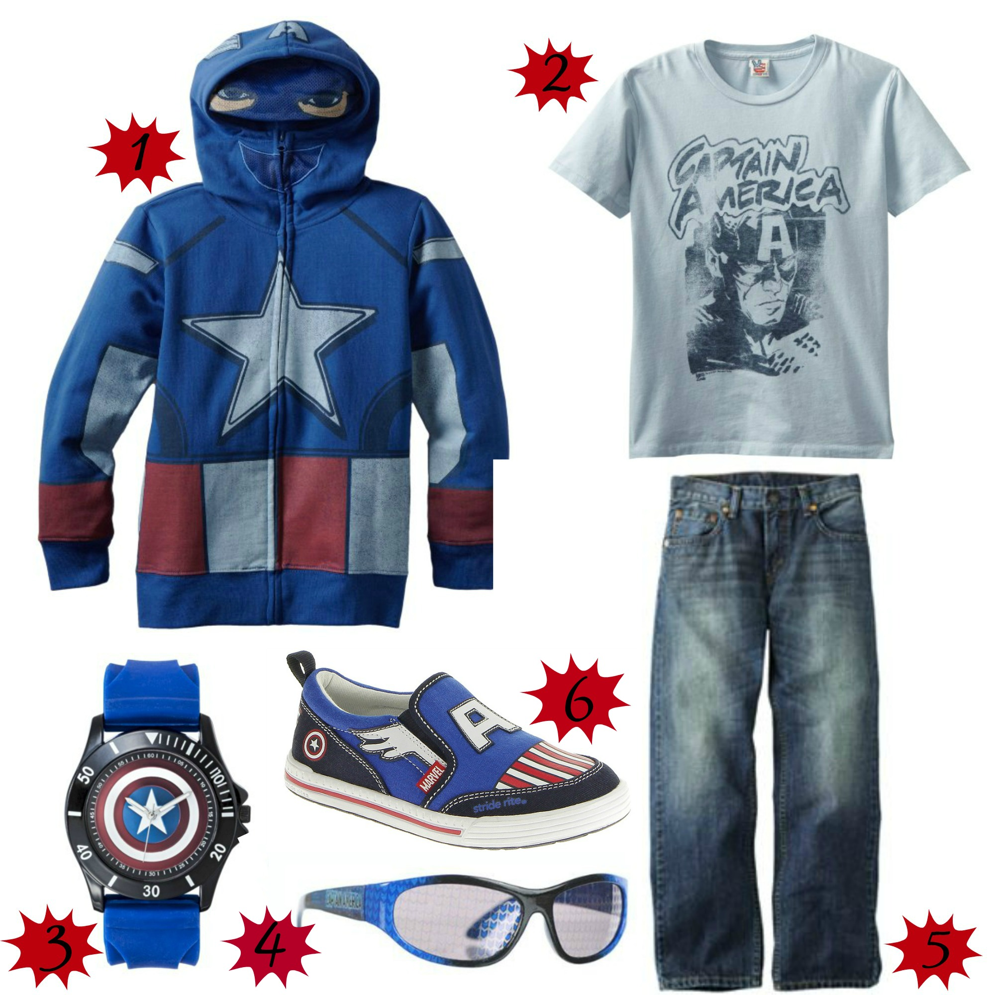Captain America Fashion for the Family #CaptainAmerica - Sippy Cup Mom