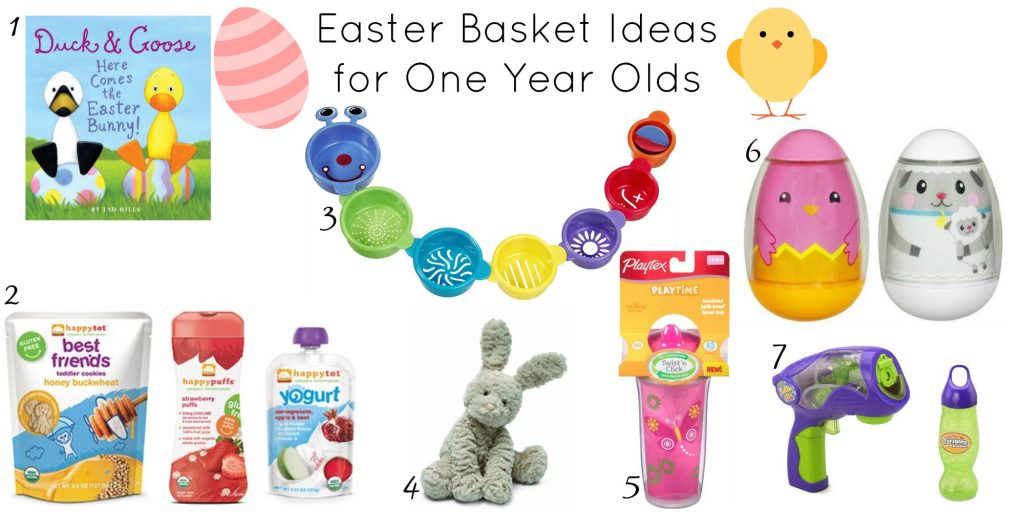 Easter Basket Ideas for One Year olds