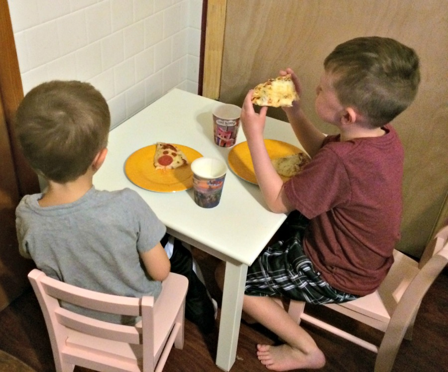 Kids Ragu Pizza