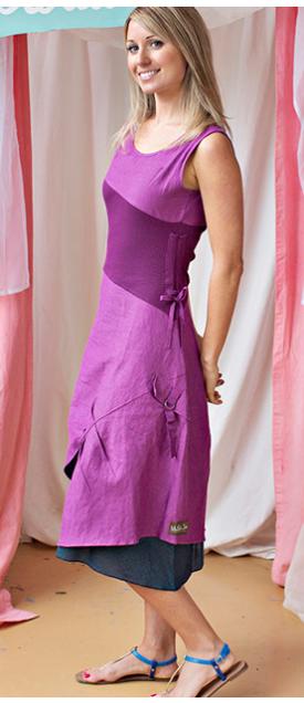 MJC Grape Ekaterina Dress
