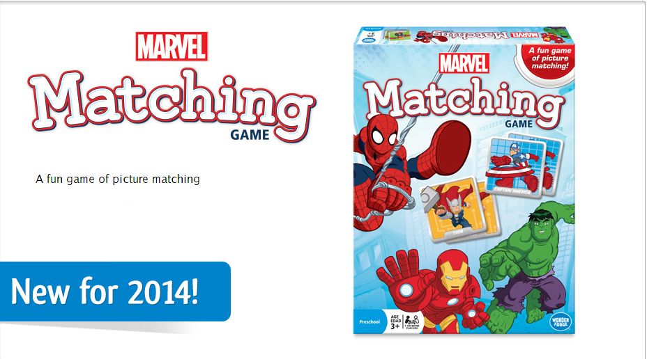 Marvel Matching Game by Wonder Forge