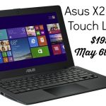 Buy a Asus X200-MA Touch Laptop for $199 – May 6th Only! #WindowsChampions
