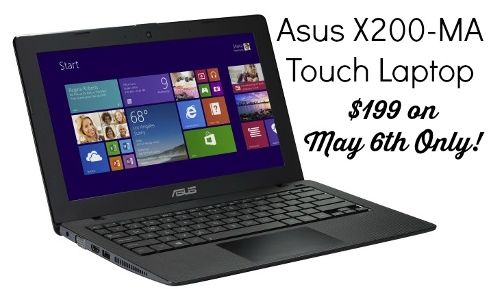 Asus Laptop for $199
