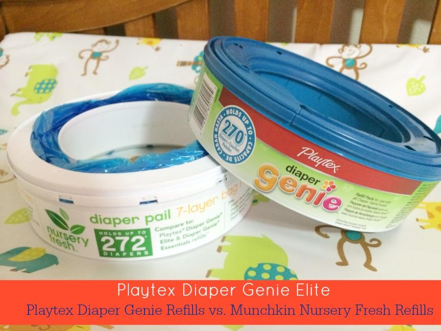 Diaper Genie Refills Vs Nursery Fresh