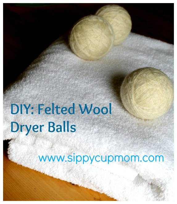 Felted Wool Dryer Balls Main Pic