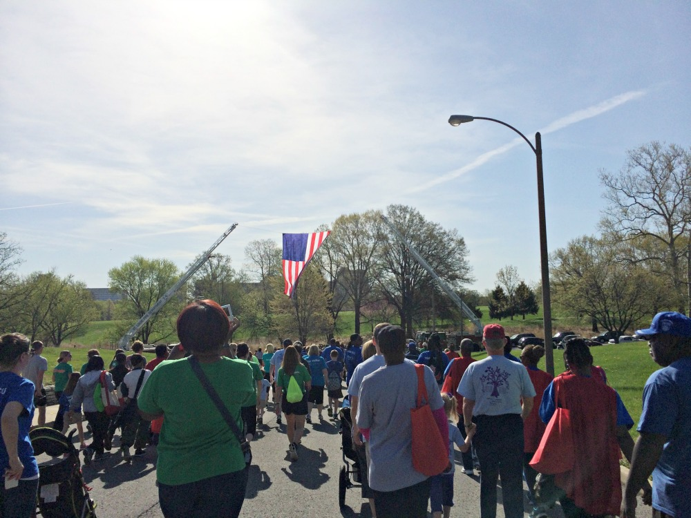 March for Babies Walking